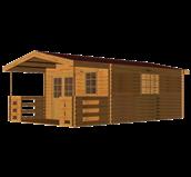 کلبه های چوبی تا 10 متر مربع
